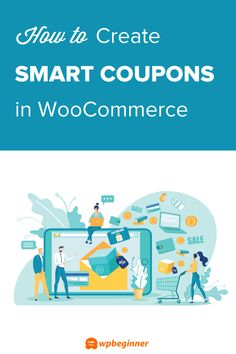 Want to boost sales in your online store? Learn how to create smart coupons in WooCommerce (it's easy). Create BOGO offers, auto-apply coupons, and more. Wordpress Admin, Gift Coupons, It's Easy, Get One, Encouragement, How To Apply, Coding, Learning, Create