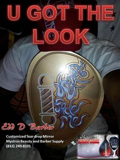 I want to thank Edd D Barber for letting us feature him in our UGTL #Magazine and to show our Appreciation we customized a magazine for you and your customers. .....This magazine will be on sale at http://www.ugotthelook.com