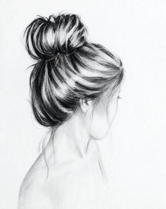 Simple and pretty charcoal drawing. If someone framed this print for me for Christmas, I'd be in love