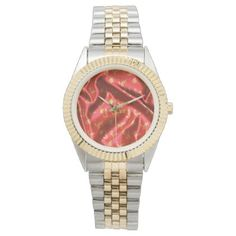 LoveFun and Joy-Silkred Wrist Watch - valentines day gifts love couple diy personalize for her for him girlfriend boyfriend