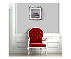 Matte Maison: Mensola in melaminico c/adesivo frame bianco - 34x34x20 cm