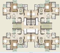 Sunworld Vanalika Floor Plans