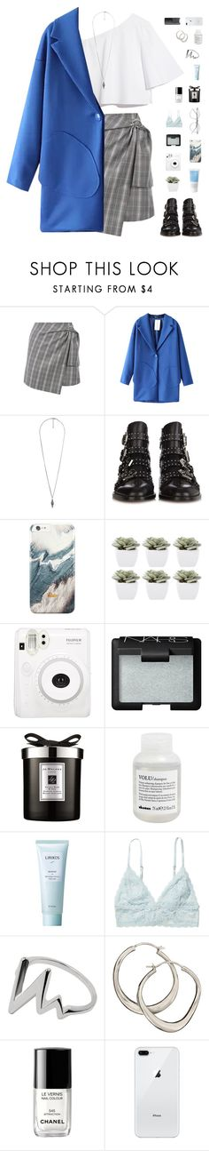 """220k followers"" by f-resh ❤ liked on Polyvore featuring Chicnova Fashion, Forever 21, Givenchy, Korres, Abigail Ahern, NARS Cosmetics, Jo Malone, Davines, Lirikos and Monki"