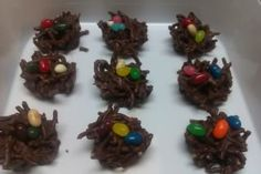 Easter Nest Treats - chocolate and peanut butter!