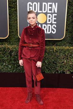 "The 2019 Golden Globes red carpet gave us beautiful fashion moments — see our picks for ""best dressed"" here. Golden Globe Award, Golden Globes, Formal Pants, Penelope Cruz, Michael Kors Collection, Celebrity Red Carpet, Charlize Theron, Nicole Kidman, Red Carpet Looks"