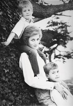 Diana, Princess of Wales * Prince Harry of Wales * Prince William, Duke of Cambridge Princess Diana Photos, Princess Diana Family, Royal Princess, Prince And Princess, Princess Of Wales, Lady Diana Spencer, Diana Son, Prinz Charles, Prinz William