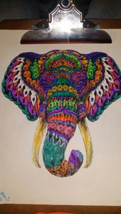 World Coloring Book Milliemarotta Coloringbook Tropicalworld Elephant See More Cjfi