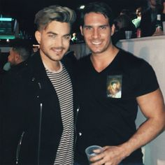 Holy Crap!!! I don't know who he is with Adam but...SHIP!!!! ;)  ;)