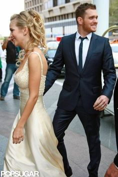 Michael Buble and Luisana Lopilato Cute Pictures Photo 15
