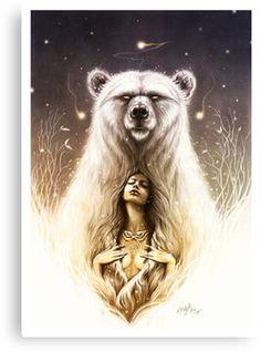 """Bear Spirit"" The shaman recall.I am a Native American Mama Bear. Bear Spirit Animal, Spirit Bear, Native Art, Native American Art, American Tattoos, Bear Art, Body Art Tattoos, Ship Tattoos, Ankle Tattoos"