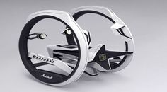 Future technology Concept Marshall Dicycle