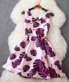 Fashion Print Dress