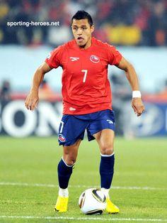 Alexis SANCHEZ. Chile takes down Spain :.-(  (total depresion)
