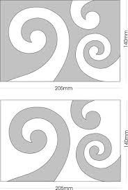 Create original kiwiana koru applique and quilting shapes from these exclusive acrylic templates from Kiwiquilts. Quilting Stencils, Quilting Templates, Quilting Tips, Machine Quilting, Quilting Designs, Maori Patterns, Mosaic Patterns, Quilt Patterns, Art Maori