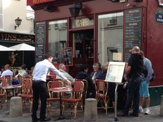 Wining and dining in Paris