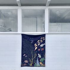 Hand embroidery, wall hanging from Jore Copenhagen.