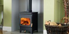 log burner hearth - Nice but wood floor? Wood Burning Stoves Uk, Period Living, Multi Fuel Stove, Stove Fireplace, Log Burner, Living Room Decor, Dining Room, Home Appliances, Flooring