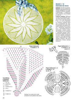 Kira scheme crochet: Scheme crochet no. Crochet Doily Diagram, Crochet Mandala Pattern, Crochet Doilies, Crochet Patterns, Irish Crochet, Free Crochet, Knit Crochet, Thread Crochet, Crochet Scarves