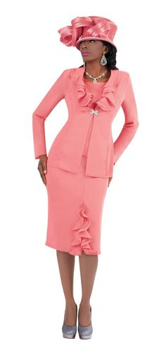 Pink Mother of Bride Suit | ... 9245 Pink Mother of the Bride Cocktail Dress Skirt Suit 6 to 26W