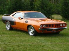 1971 Plymouth Barracuda...My dream is black leather interior, gold metal flake paint exterior