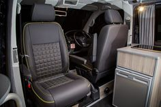 """Traditional """"Lux"""" Conversions - New Wave Custom Conversions Vw T5 Interior, Conversation, Car Seats, Traditional"""