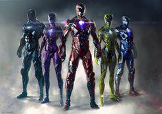 Power Rangers или Могучие Рейнджеры