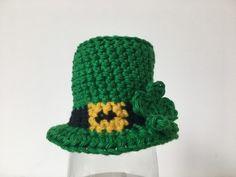 Op 17 maart is het St. Patrick's Day, dus daarom speciaal een Leperkoen mutsje met shamrock patroon voor de Goedgemutste Breicampagne!