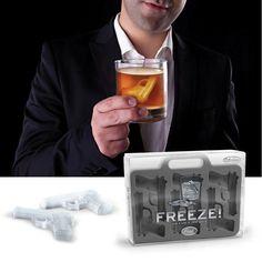 FREEZE - Handgun Ice Cube Trays $12.99
