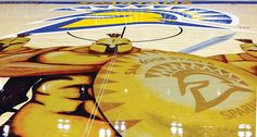 Larger-than-life metallic Spartans on the new San Jose State University basketball floor created an out-of-the-box challenge for United Floor Services Inc.