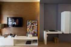 Small apartment with a surprisingly spacious interior