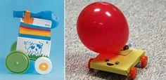 carrinho reciclado brinquedo