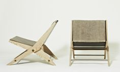 folding lounge chair wood - Google Search