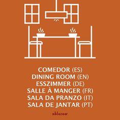 # #Comedor # # #DiningRoom # #Esszimmer # #SalleÀManger # #SalaDePranzo # #SalaDeJantar