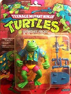 The oddest Teenage Mutant Ninja Turtles toys from Playmates - Twenty Bizarre TMNT Toys Ninja Turtle Toys, Ninja Turtles Action Figures, Teenage Mutant Ninja Turtles, Retro Toys, Vintage Toys, 1980s Toys, Gi Joe, Tmnt Characters, Ninga Turtles