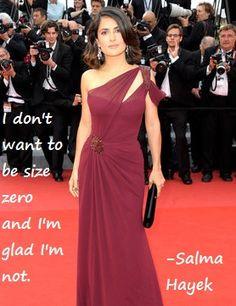 Salma Hayek- body inspiration