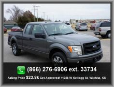 2013 Ford F-150 STX Pickup   Rear Hip Room: 65.4, Rear Center Seatbelt: 3-Point Belt, 4 Door, Fuel Capacity: 26.0 Gal., Abs And Driveline Traction Control, Clock: In-Radio Display, Total Number Of Speakers: 4, Tires: Prefix: P, Leaf Rear Spring, Front Independent Suspension,