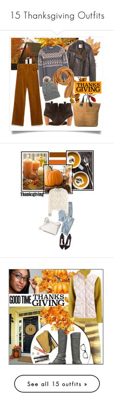 """""""15 Thanksgiving Outfits"""" by polyvore-editorial ❤ liked on Polyvore featuring thanksgiving, waystowear, MANGO, Zara, H&M, Violeta by Mango, Wrap, See by Chloé, Christian Dior and Kate Spade"""