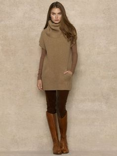 Cashmere Sweaters and Cardigans Mode Outfits, Casual Outfits, Fashion Outfits, Fall Winter Outfits, Autumn Winter Fashion, Autumn Style, Ralph Lauren Womens Clothing, Mode Style, Trench Coats