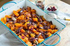 ... Butternut Squash with Cranberries & Pecans - Paleo, Gluten-Free