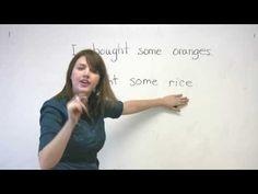 English Grammar - Countable and Uncountable Nouns