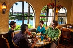 The Smokehouse Grill offers up family fare and fine dining options.
