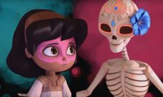 este vídeo los enseña como es el dia de los muertos
