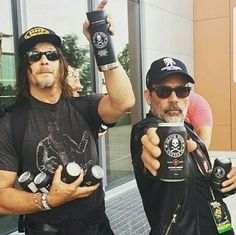 JDM goofing around with Norman