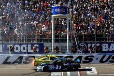 Denny congrats!! Matt on his win at Las Vegas Speedway