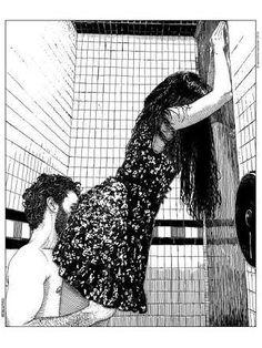 """Eu estava livre da sociedade correta Estava livre dos conceitos Estava livre dos preconceitos Dos bons modos Dos bons costumes Das boas amizades Das boas influências. Eu estava livre da obrigação de ser normal De ser o """"exemplo"""" da família De ser a """"moça pra casar"""" Eu podia finalmente ser louca e exagerada Fumando e escrevendo o dia todo Sem me preocupar com o mundo ao meu redor."""" -Helena Ferreira."""