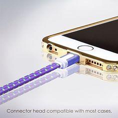 iPhone 6 Charger - 6ft, Purple, Flat Lightning Cable - St... http://www.amazon.com/dp/B00S4FIRVC/ref=cm_sw_r_pi_dp_D33vxb0GZSM15