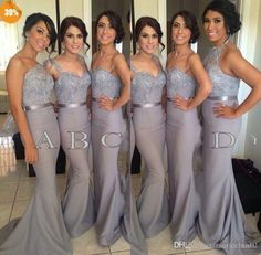 Wholesale cheap bridesmaid dresses online, 2015 spring summer - Find best long grey bridesmaid dresses 2014 hot selling empire strapless/Spaghetti sweetheart/Halter sexy formal gowns cheap wedding guest dress sdd at discount prices from Chinese bridesmaid dress supplier on DHgate.com.