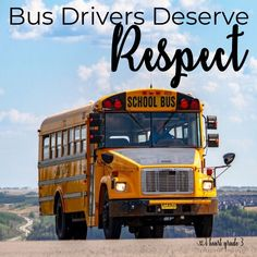 Bus Drivers Deserve Respect - I Heart Grade 3 Third Grade Math, Grade 3, Teaching Tips, Teaching Math, Classroom Management Plan, School Bus Driver, Recent News, New Teachers, Elementary Education