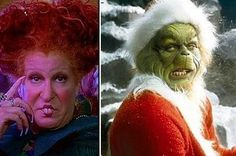 13 Reasons Winifred Sanderson And The Grinch Would Be The Perfect Couple