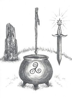 The Four Treasures of the Tuatha Dé Danann Stone of Fál: It would cry out beneath the king who took the sovereignty of Ireland. It was supposedly located near the Hill of Tara in County Meath. Spear of Lug: No battle was ever sustained against it, or...